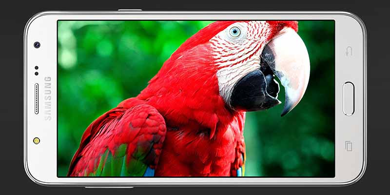 Samsung Galaxy J7 Display