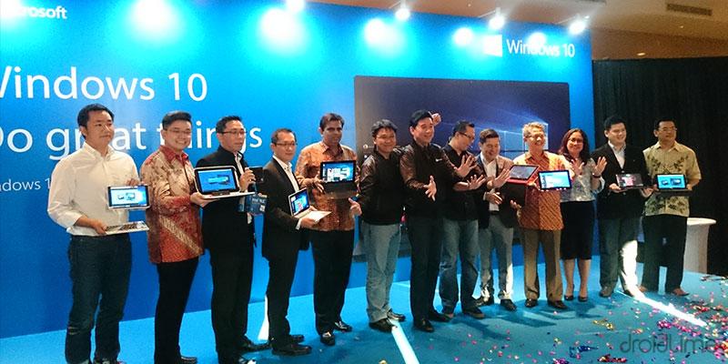microsoft windows 10 resmi hadir untuk seluruh platform