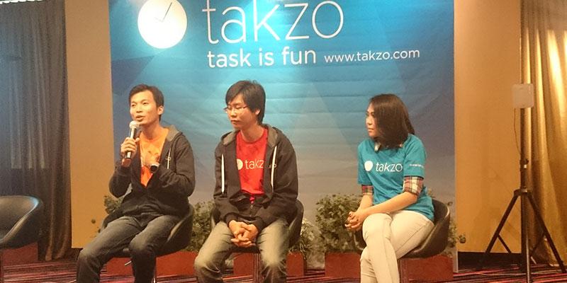 aplikasi takzo sajikan berbagai fitur menarik