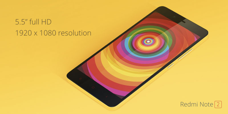 redmi note 2 sale