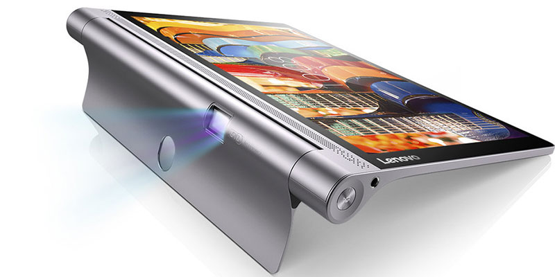 lenovo yoga tab 3 pro punya proyektor yang bisa diputar