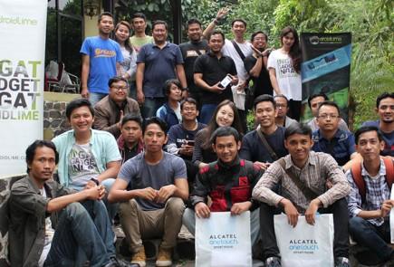 Alcatel-gathering