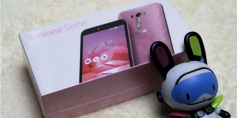 zenfone selfie pink