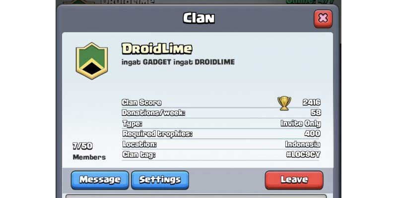 droidlime clan