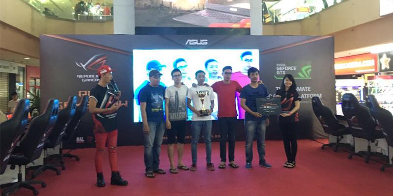 Juara 1 Asus ROG Game Show 2016