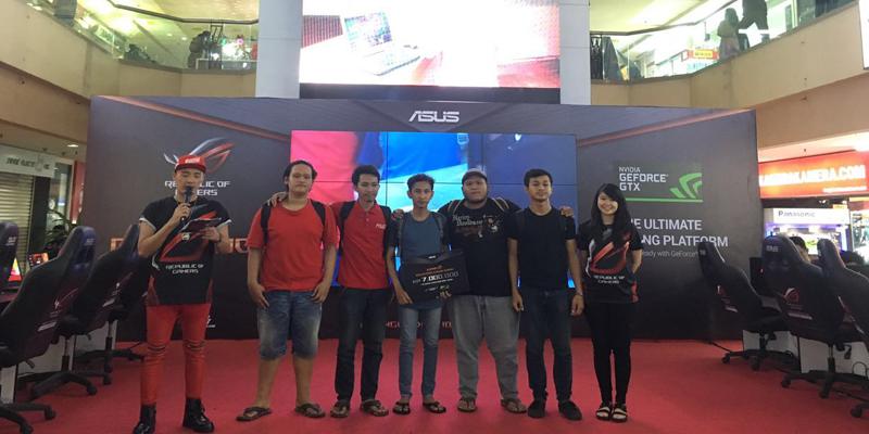 Juara 2 Asus ROG Game Show 2016