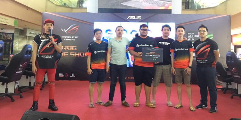 Juara 3 Asus ROG Game Show 2016