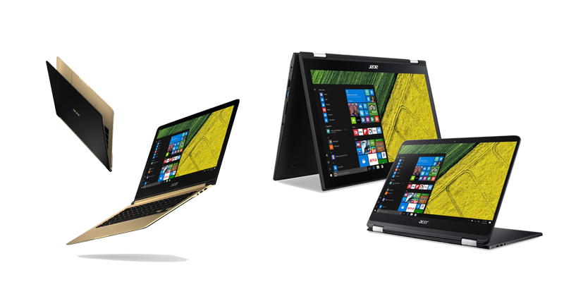 Acer swift 7 dan spin 7