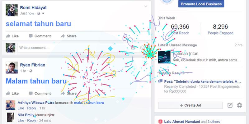 tahun baru FB