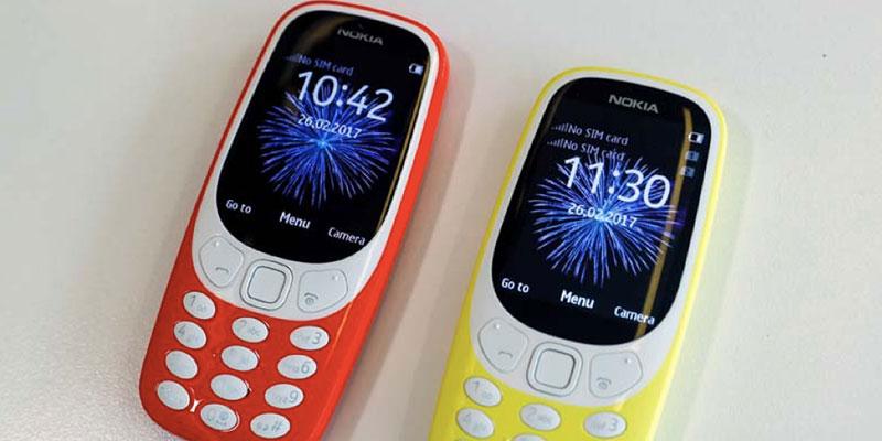 nokia 3310 baru dan lama 5
