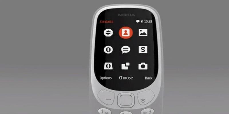 nokia 3310 baru dan lama 6