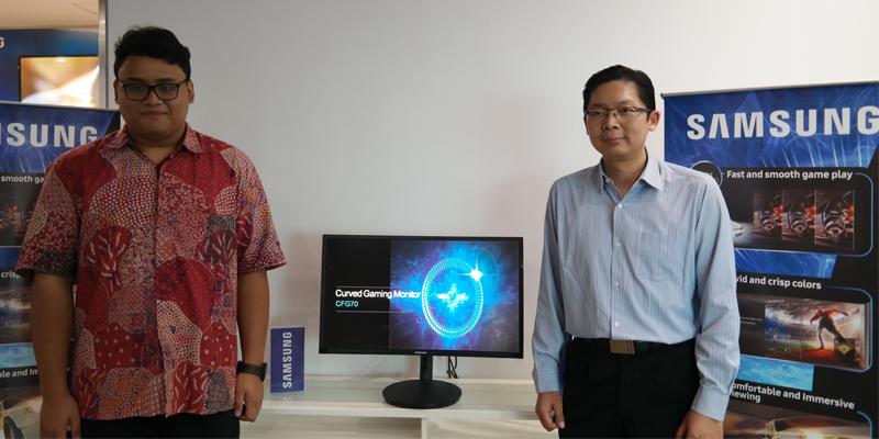 Samsung Gaming Monitor CFG70 1