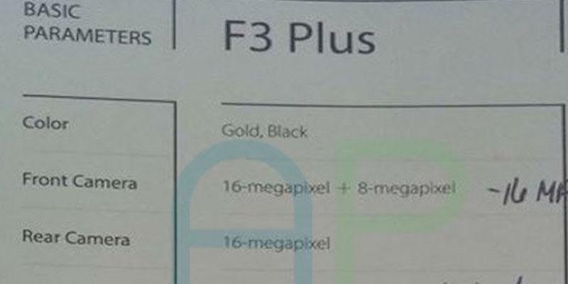 f3 plus spec
