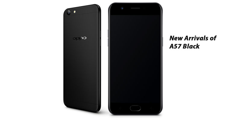 oppo black color A57