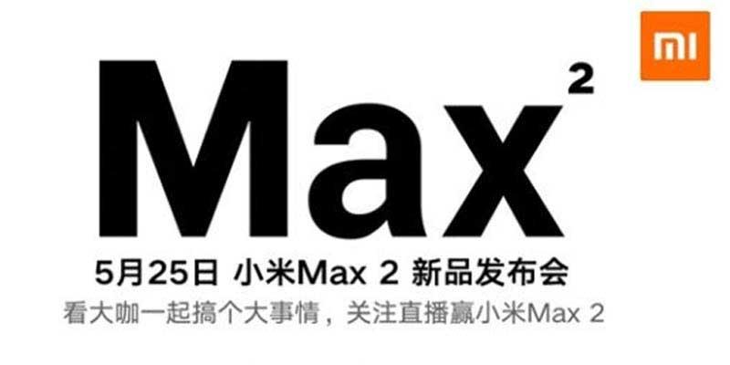 Xiaomi Mi kondigt Release Date Max 2