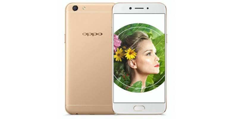Official OPPO A77 glides Selfie Camera 16 MP
