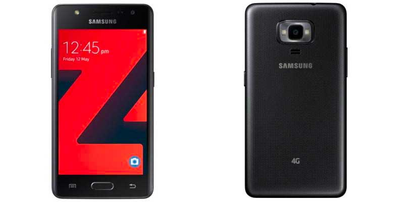 Samsung Announce the Z4, Tizen Affordable Smartphone with 4G support