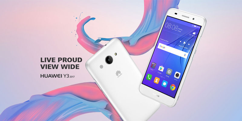 Huawei Quietly Releases Touching Y3 2017 Specifications
