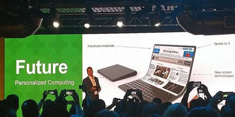 Lenovo PC Foldable
