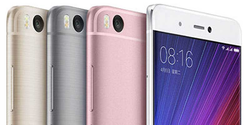 Four Flagship Smartphone Xiaomi MIUI Sample 8 Based Nougat