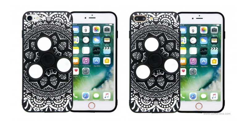 Unique! Casing Smartphone It Comes Fidget Spinner