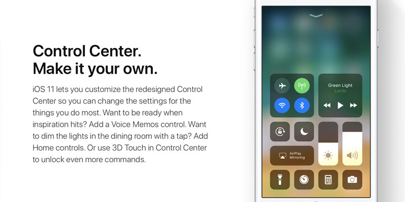 10 New Features in iOS 11