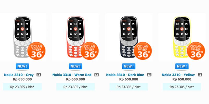 nokia 3310 indonesia