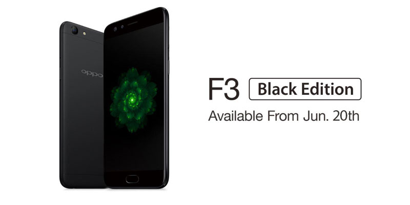 oppo f3 black indonesia