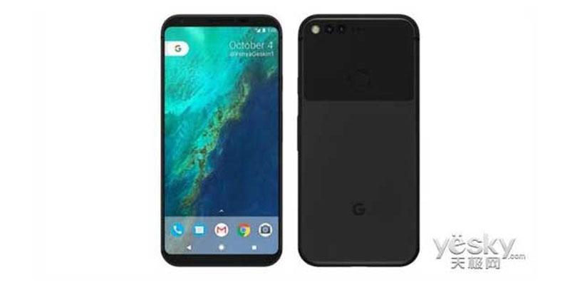 Back comes, Google Design Pixel 2 Similar to Predecessor