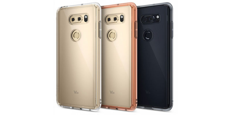 Render Reveals Design Protective Case LG V30