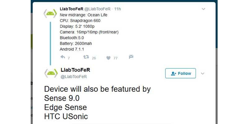 HTC U Series