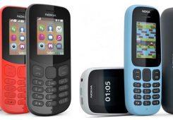 Nokia 105 dan Nokia 130 245x170