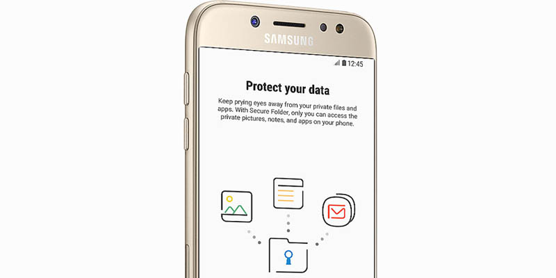 Samsung Galaxy J5 Pro Secure Folder