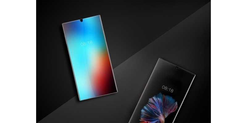 Smartphone Sharp Bezel less 1