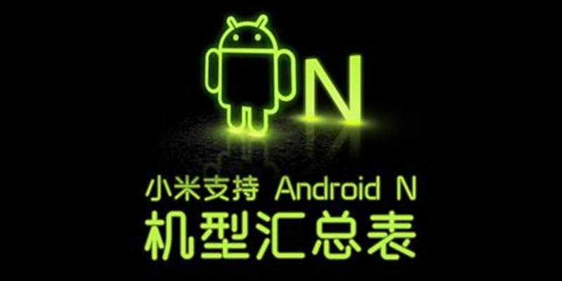Smartphone Xiaomi Android Nougat