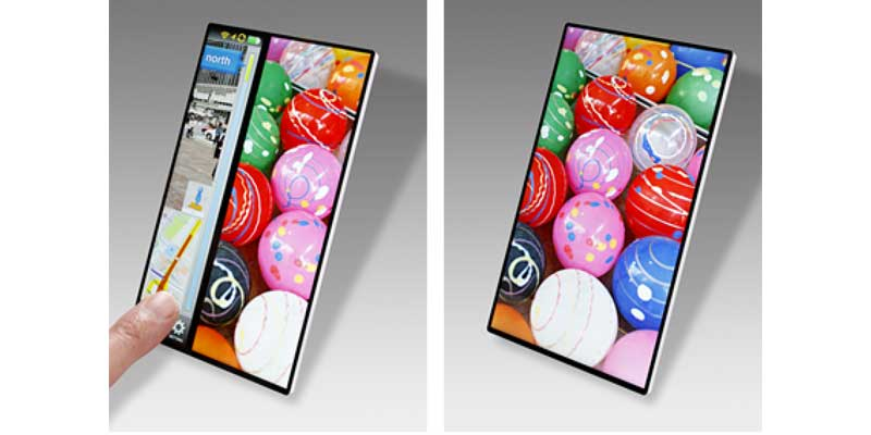 Sony Smartphone Bezel less