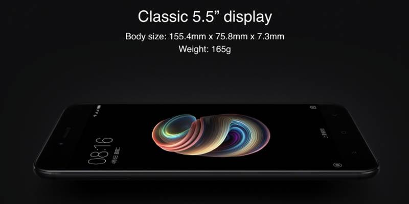 Xiaomi Mi 5X Display