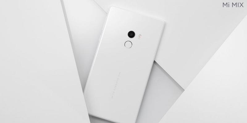 Xiaomi Mi MIX Belakang