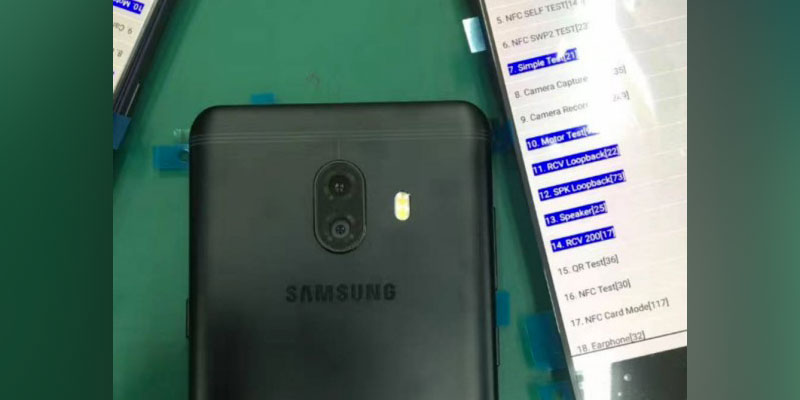 First form Samsung Galaxy C10 comes in Recent Photos