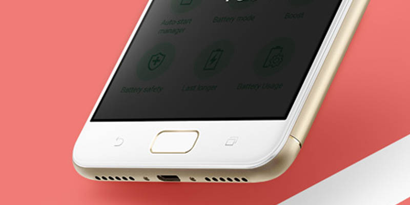 ASUS Zenfone 4 Max Pro Fingerprint