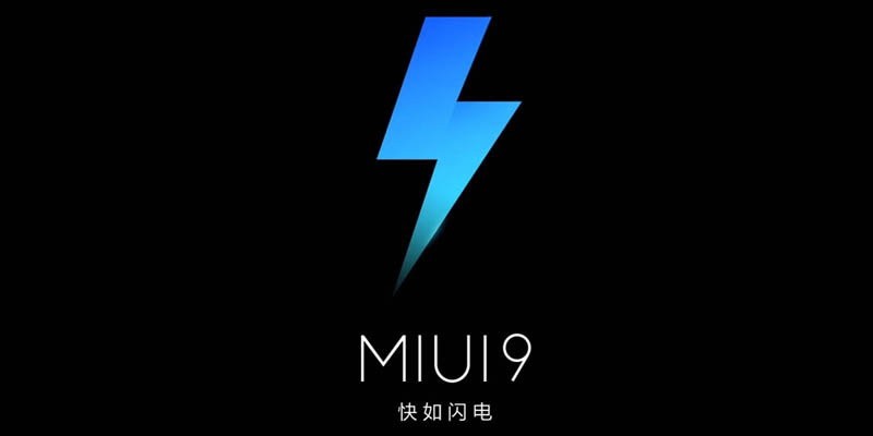 MIUI 9 Logo Black
