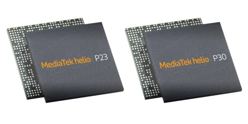 MediaTek Helio P23 and P30