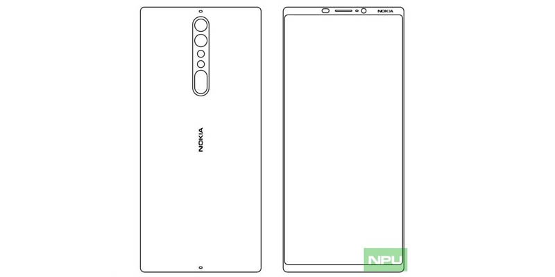 Global HMD Prepare Nokia 9 with Similar screen Galaxy S8