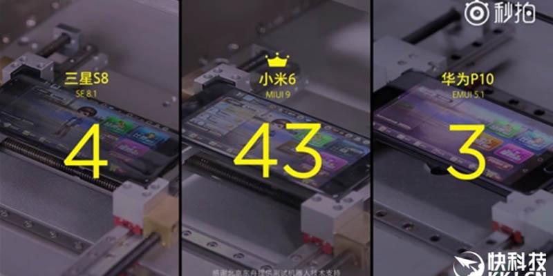 Xiaomi MIUI 9 Top Apps