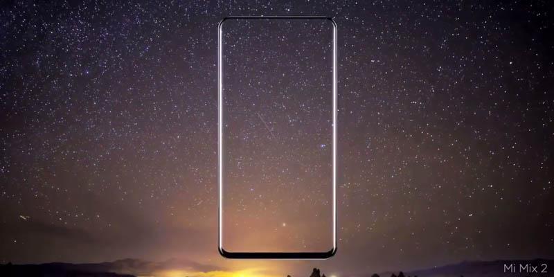 Xiaomi Mi MIX 2 Starck Leak