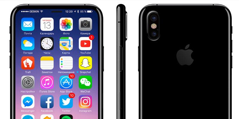 iPhone 8 Smart Camera