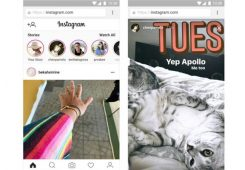 Fitur Stories Instagram Mobile Web 245x170