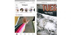 Fitur Stories Instagram Mobile Web 300x150