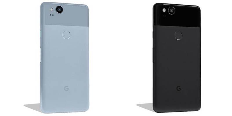 Google Pixel 2 Bentuk
