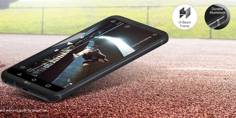 LG Q6 Aluminium7000